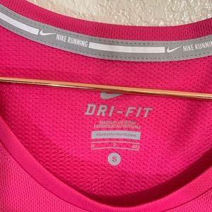 Nike Tops - Nike Running | Pink Dri Fit Camo Active Tee -Small
